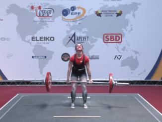 Esther Gutiérrez sexta en el Campeonato de Europa de POWERLIFTING