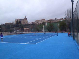 Pistas de tenis polideportivo municipal