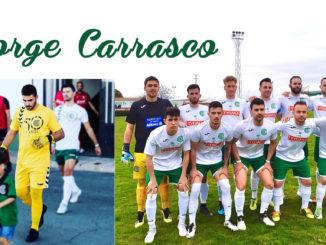Jorge Carrasco García (Madrid, 25 de agosto de 1998) aunque nació en la capital se siente Coriano, su familia regresó a Coria cuando Jorge contaba con tan solo 6 años.