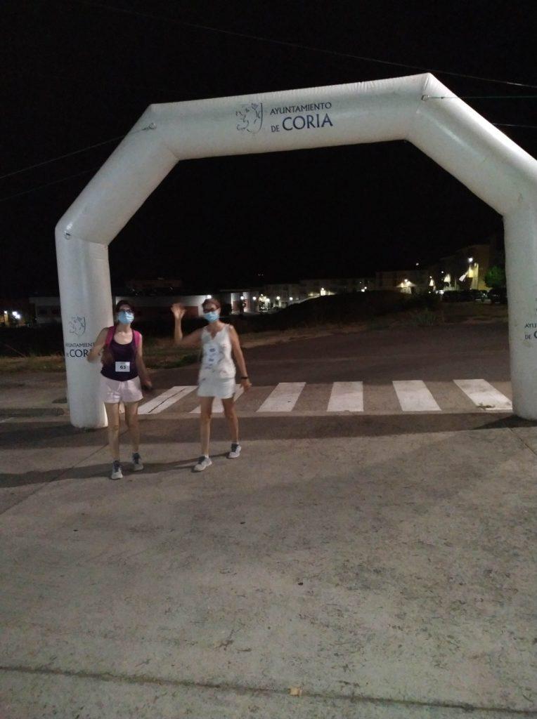 """El sábado se celebró la VI Ruta Nocturna """"Luna Zapatona"""""""