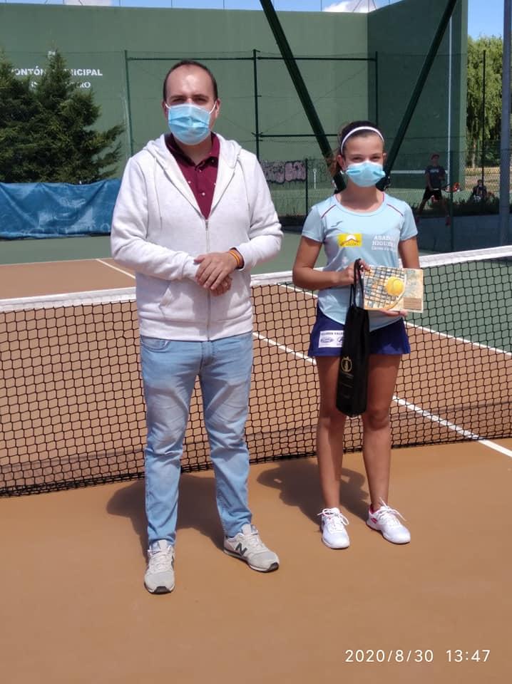 "Patricia González, Ganadora del ""IV Torneo de Tenis de Alba de Tormes"""