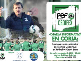 Charla informativa, Cursos Técnico Deportivo en fútbol y fútbol-sala