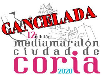 """Cancelada la organización de la XII Media Maratón """"Ciudad de Coria"""""""