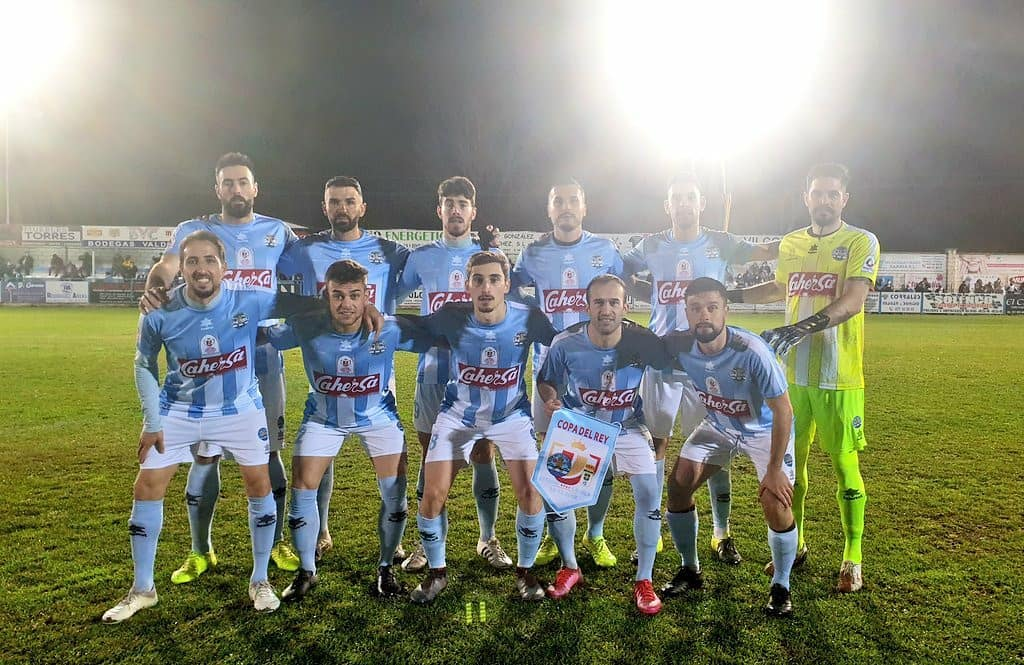 Once inicial frente al R. Oviedo en Copa del Rey